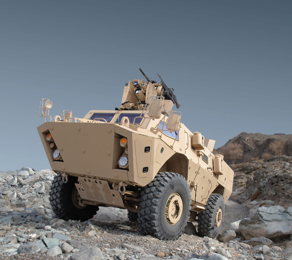 COMMANDO Elite is the Canadian Forces vehicle of choice for its Tactical Armoured Patrol Vehicle Program