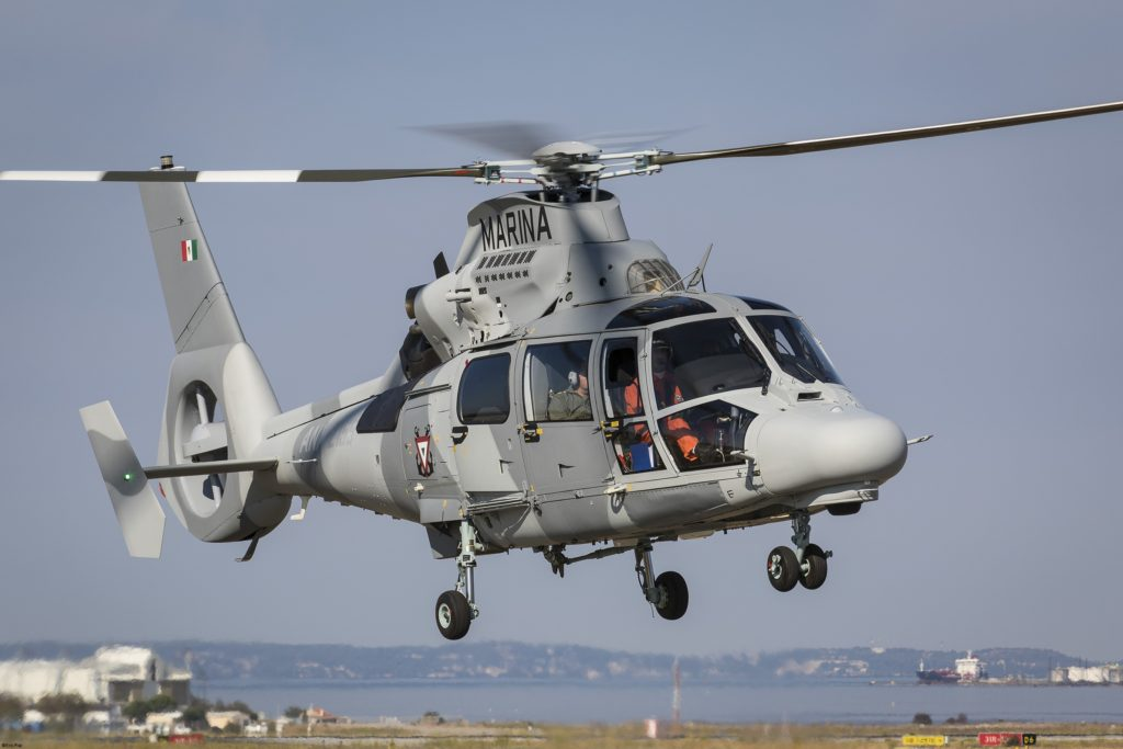 With more than ten years' experience of flying the Panther, the Mexican Navy is the launch customer for the upgraded AS565 MBe variant
