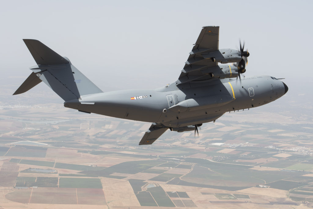 First Spanish Air Force A400M makes its maiden flight