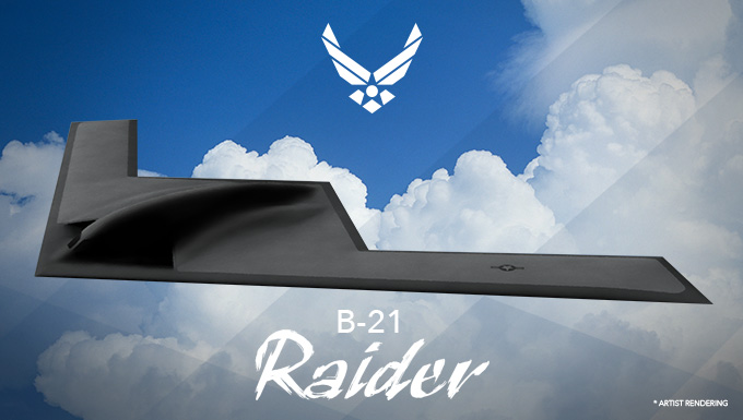 Air Force Names the B-21 Bomber the Raider