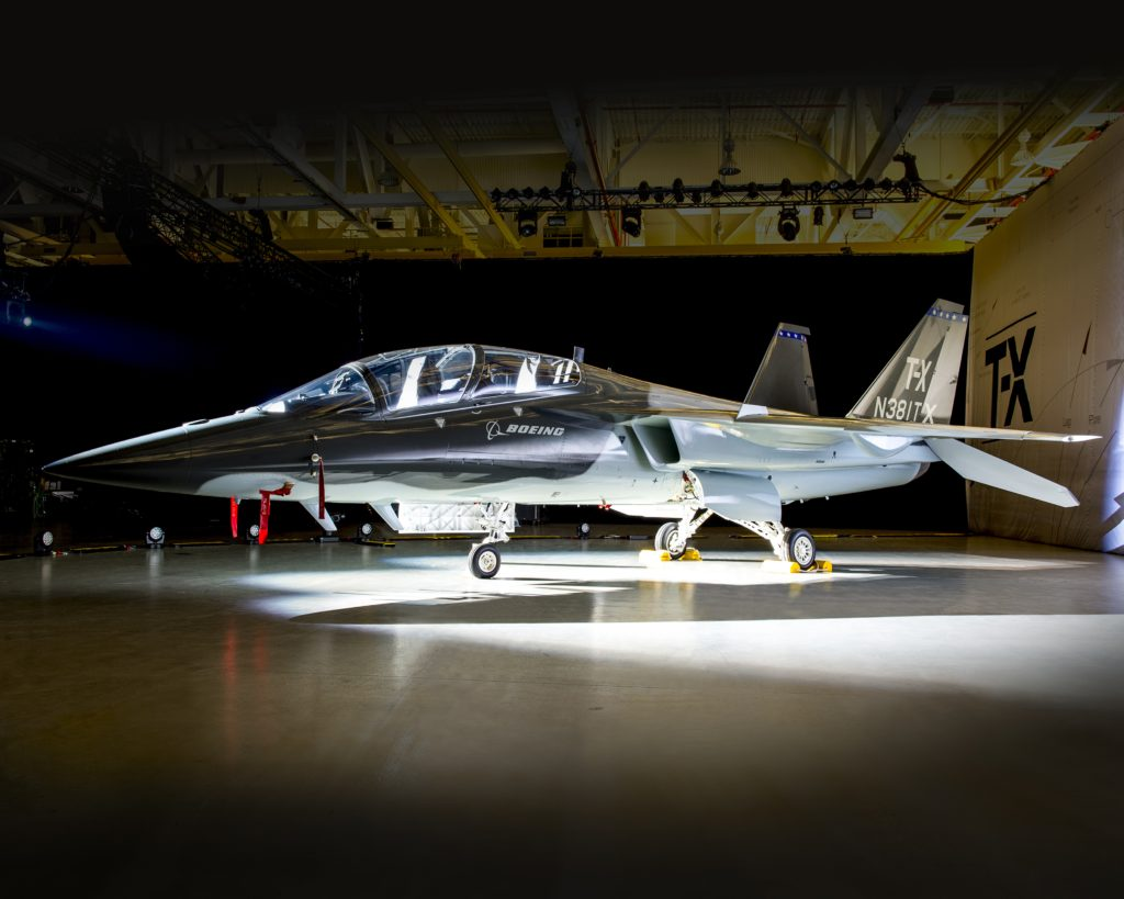 The Boeing and Saab T-X aircraft (Boeing photo)