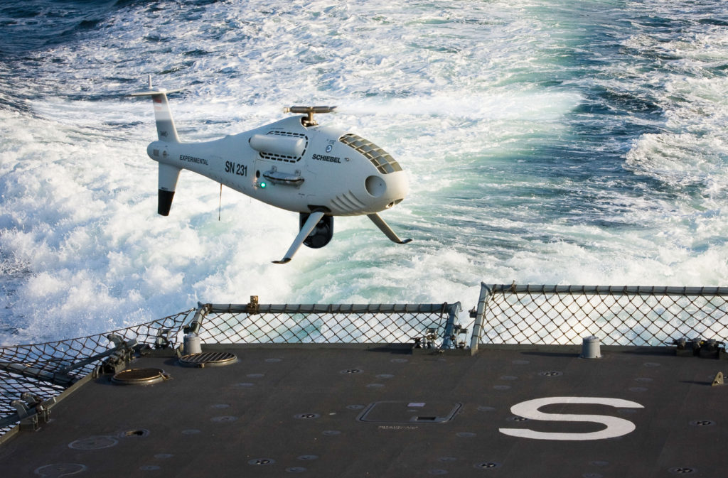 The Vertical Take-Off and Landing (VTOL) UAS needs no prepared area or supporting launch or recovery equipment