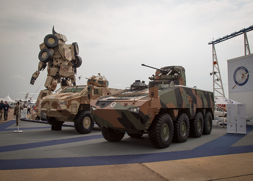 Paramount Group unveils family of highly advanced Infantry Combat Vehicles at AAD 2016