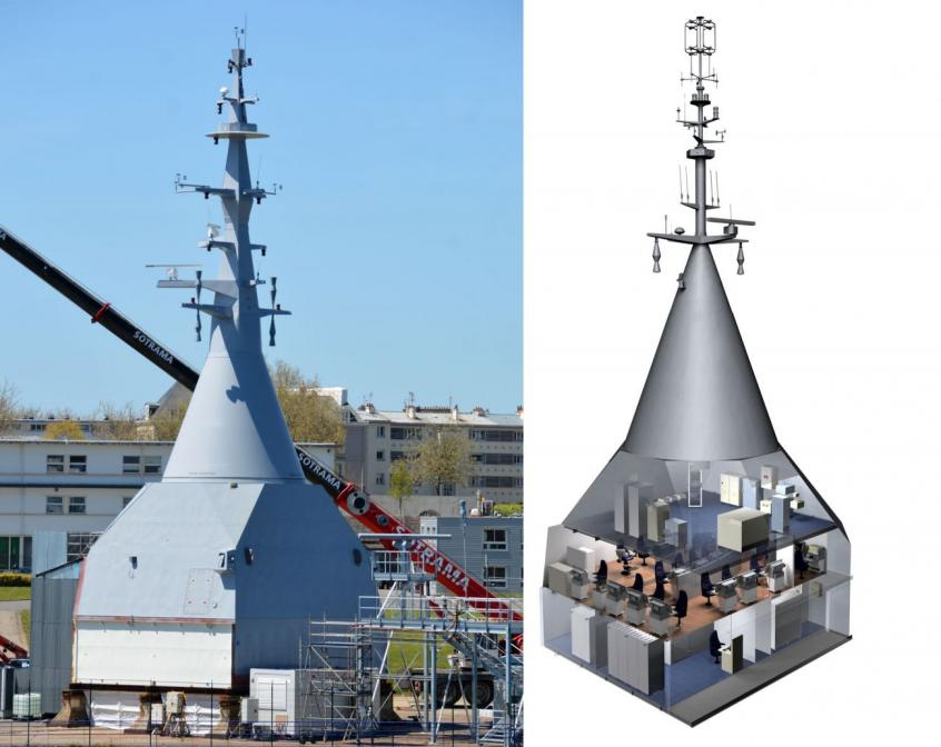 The Panoramic sensors and intelligence module (Mer et Marine/DCNS)
