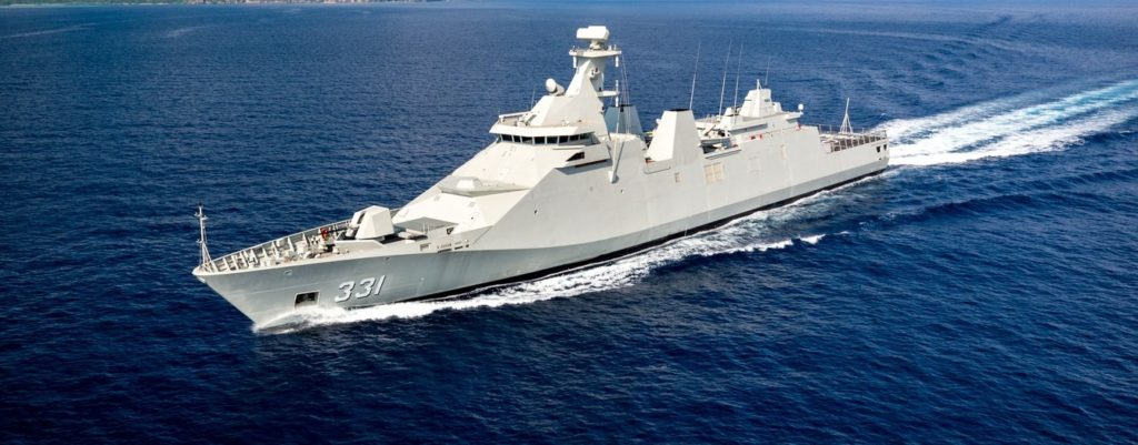 First SIGMA 10514 PKR frigate for Indonesian Navy completes sea trials