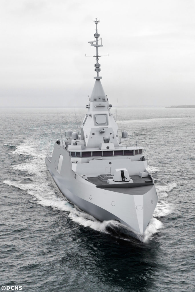 The new heavily-armed frigate made for the international market