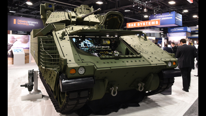 BAE Systems debuting next generation Bradley prototype