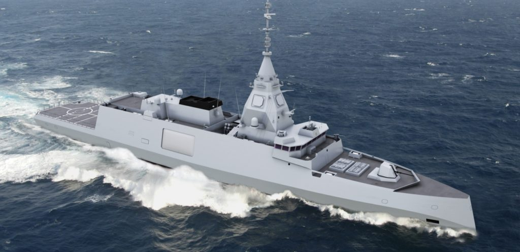 DCNS unveils BELH@RRA, the new-generation digital frigate