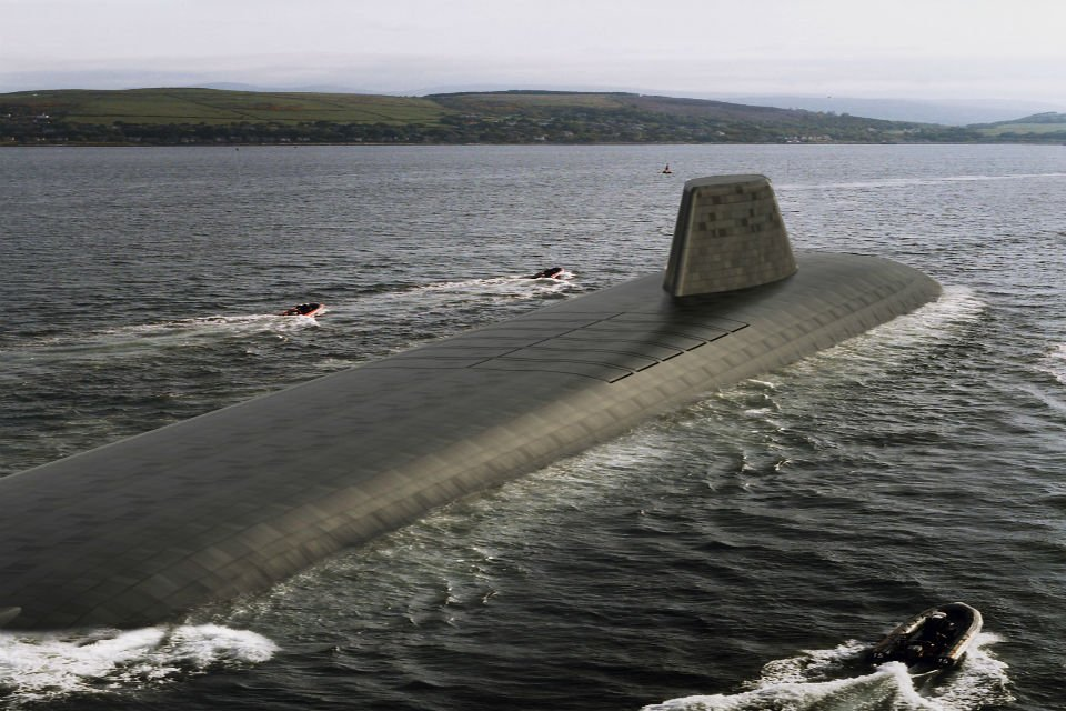 The Successor submarines will be the largest submarines ever built for the Royal Navy