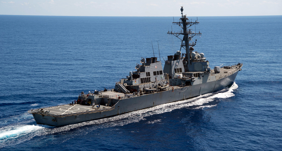 The SEWIP Block 2 System has already been deployed on several Guided Missile Destroyers DDG class ships, including the USS Carney (DDG-64) (U.S. Navy photo)
