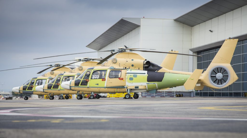 First three of 11 AS565 MBe Panther helicopters handed over to PT Dirgantara Indonesia