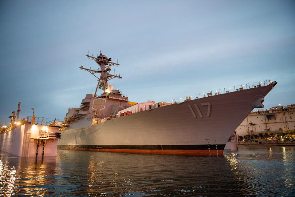 USS Paul Ignatius (DDG-117) launched