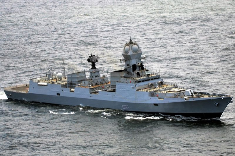 INS Chennai (D65), commissioned today into the Indian Navy fleet, is the third and final «Kolkata» class destroyer, designed with Russian assistance by the Indian Navy and built by Mazagon Dock Limited, in Mumbai