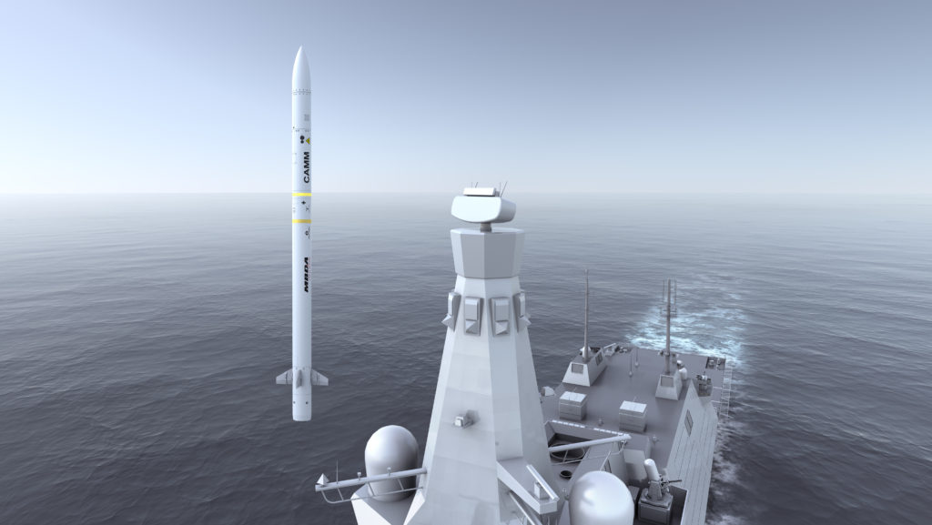 Sea Ceptor is the next-generation, ship-based, all-weather, air defence weapon system