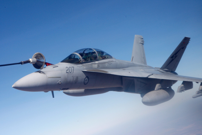 The Royal Australian Air Force's entire fleet of F/A-18F Super Hornet fighters have cow completed their first upgrade, as part of the Spiral Upgrade Program under which the fleet will receive incremental capability upgrades (RAAF photo)