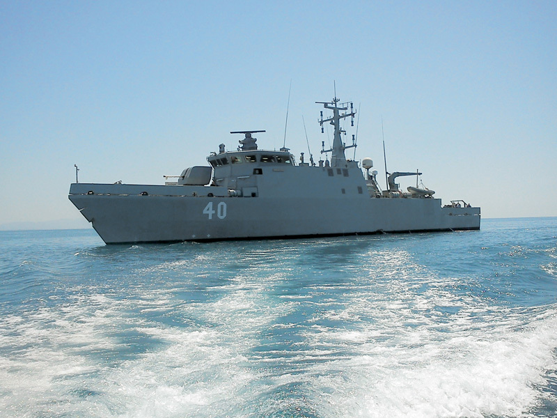 The Finnish Navy's third and final Mine Hunter, Coastal (MHC), Vahterpaa, has now been handed over by the Intermarine shipyard. Seen here is Katanpää, the lead ship of this small class of advanced minehunters (Internet photo)