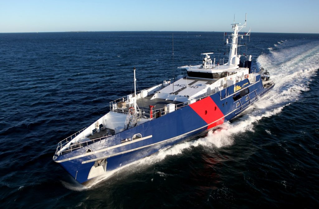 The Cape-class patrol boat is an effective maritime border protection capability, in service with the Australian Border Force and Royal Australian Navy (Photo: Austal)
