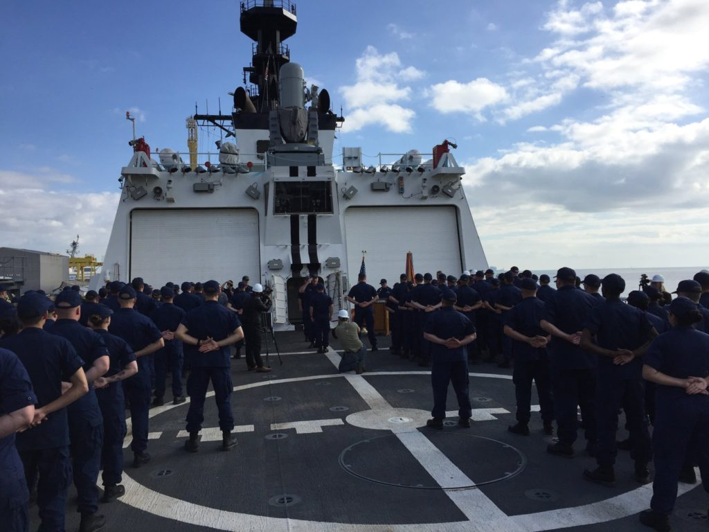 Huntington Ingalls Industries Delivers National Security Cutter USCGC Munro (WMSL-755) to the U.S. Coast Guard