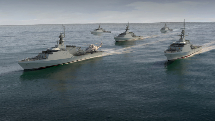 OPV contract announcement marked by construction of new navy warship