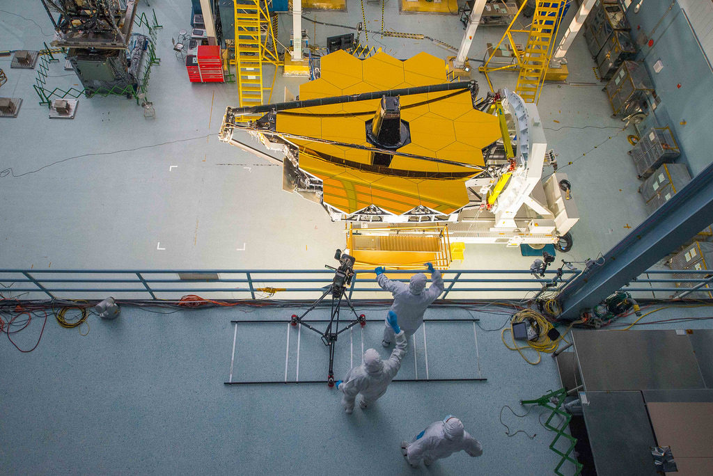 The James Webb Space Telescope (sometimes called JWST or Webb) will be a large infrared telescope with a 6.5-meter primary mirror