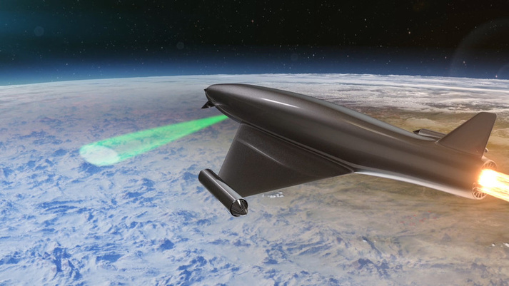 Laser Developed Atmospheric Lens (LDAL)