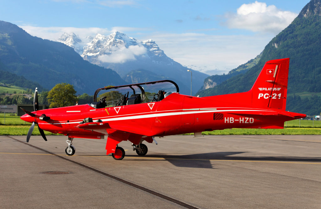 Training hours flown in expensive jets can now be done entirely in the PC-21, which saves a substantial amount of life-cycle cost