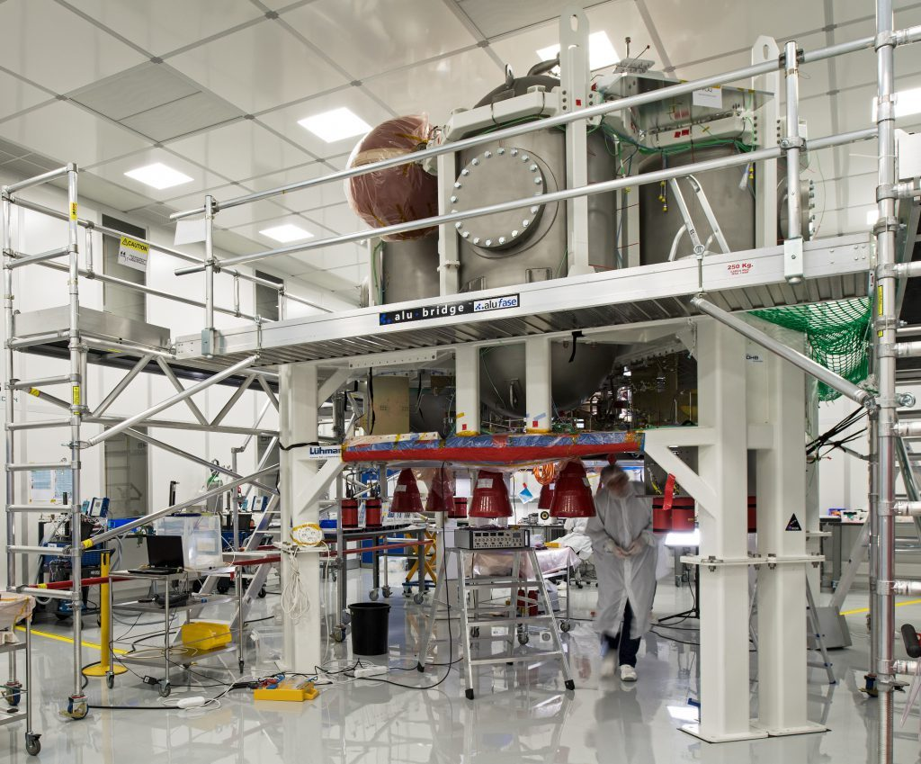 Airbus Defence and Space delivers propulsion test module for the Orion programme to NASA