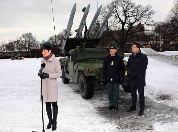 Norway acquires Army Mobile Ground Based Air Defence