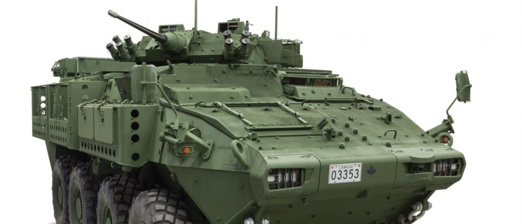 General Dynamics Land Systems – Canada to Increase Protection and Mobility for Canadian Army's LAV Fleet