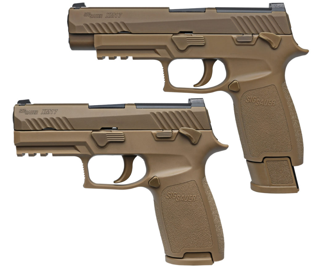 SIG Sauer, Inc. Awarded the U.S. Army Contract for its New Modular Handgun System (MHS)