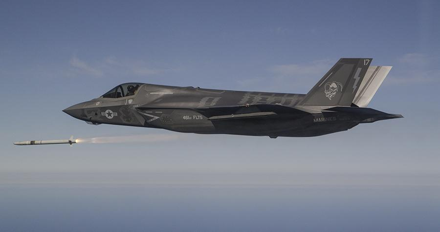 F-35 successfully conducts first firings of MBDA's ASRAAM
