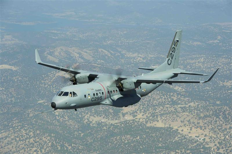 After several years of hesitation about how to replace its Avro HS-748 turboprop transports, the Chief of Staff of the Indian Air Force said negotiations will shortly be opened with Airbus to buy at least 60 C-295s (Airbus photo)