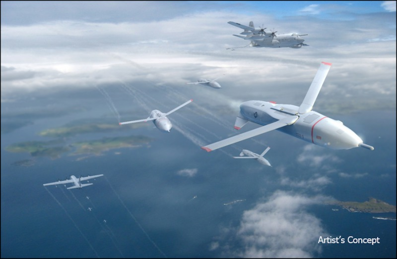 DARPA's Gremlins program seeks to develop innovative technologies and systems that would enable existing aircraft to launch volleys of low-cost, reusable unmanned aerial systems (UASs) and safely and reliably retrieve them in mid-air. In an important step toward that goal, DARPA has awarded Phase 2 contracts for Gremlins to teams led by Dynetics, Inc., and General Atomics Aeronautical Systems, Inc.