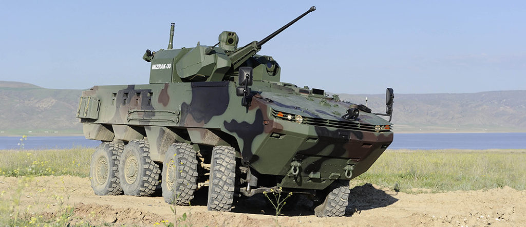 GHQ awards Al Jasoor a 2Bn Dirhams contract for the supply of 8×8 armored infantry vehicles