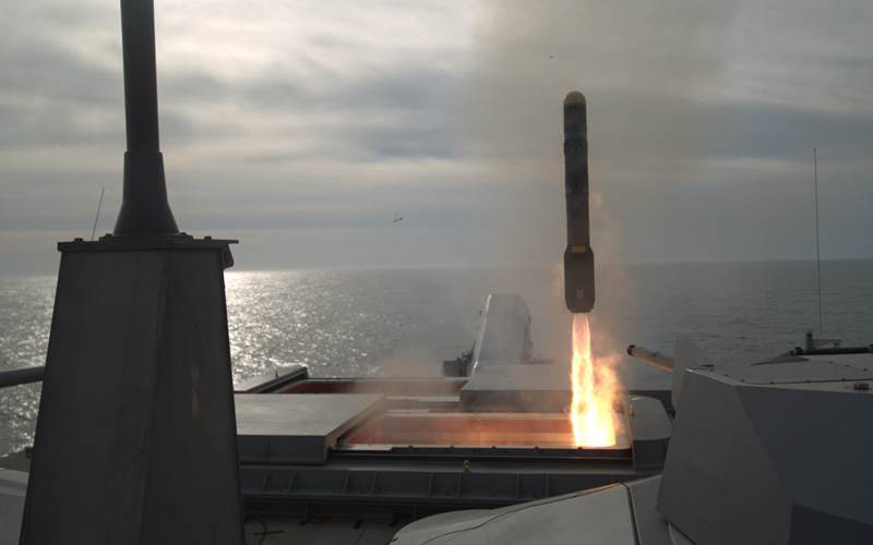 U.S. Navy Conducts Successful Missile Test Firing