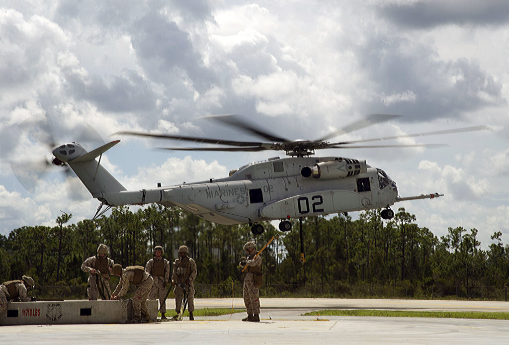 U.S. Marines established the King Stallion's capability during initial operational assessment in October 2016