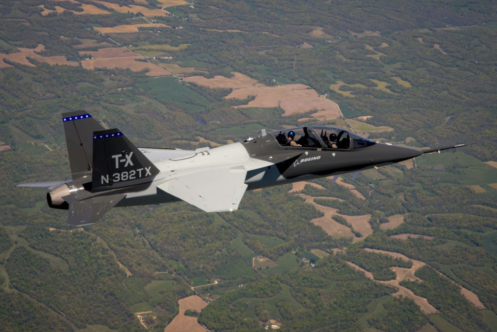 Designed for U.S. Air Force, Boeing T-X proves low risk, performance, manufacturing repeatability