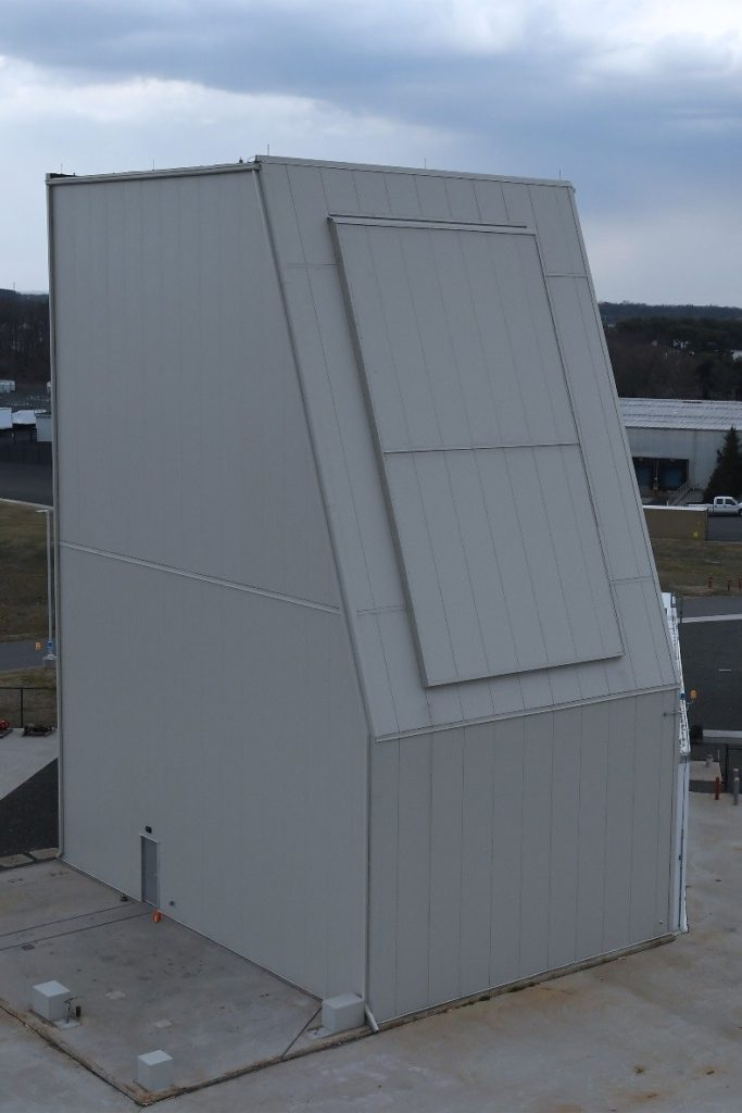 Lockheed Martin's new Solid State Radar Integration Site in Moorestown, New Jersey, is a self-funded test facility that will be utilized to demonstrate TRL 7 and provide significant risk reduction for development of Long Range Discrimination Radar and future solid state radar systems (Photo courtesy Lockheed Martin)