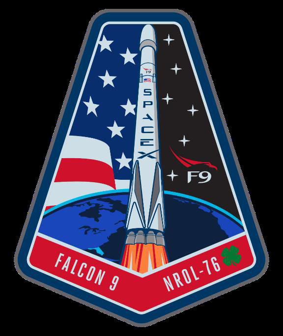 Official SpaceX NROL-76 Mission Patch