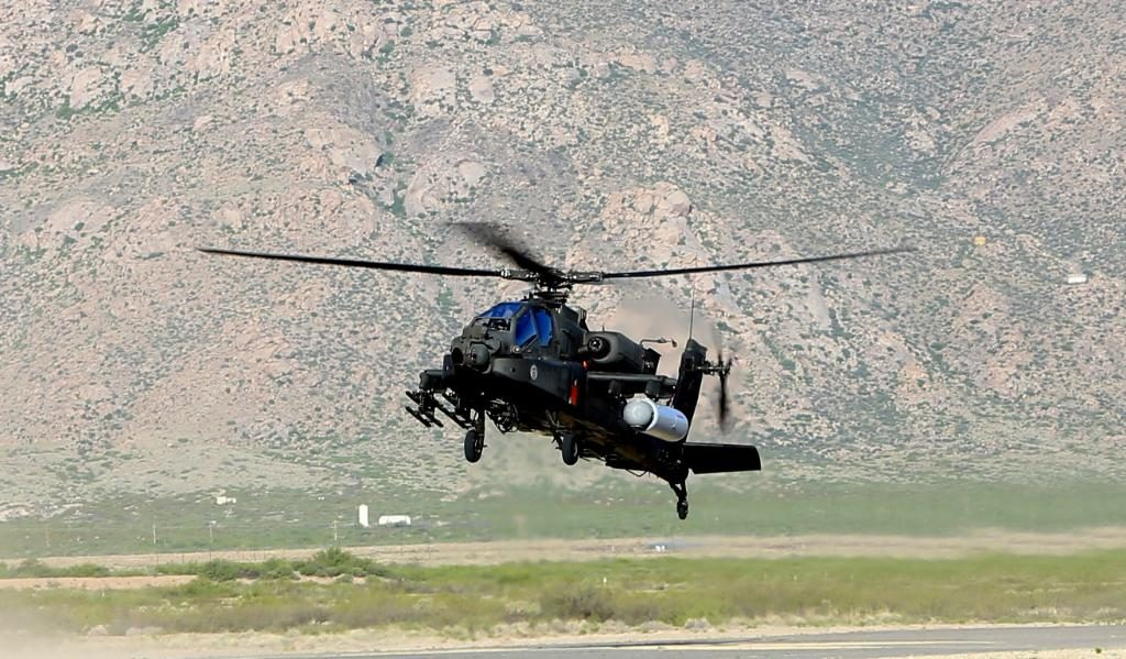 Raytheon, along with U.S. Army and United States Special Operations Command (USSOCOM), demonstrated the first-ever helicopter-based firing of High Energy Laser