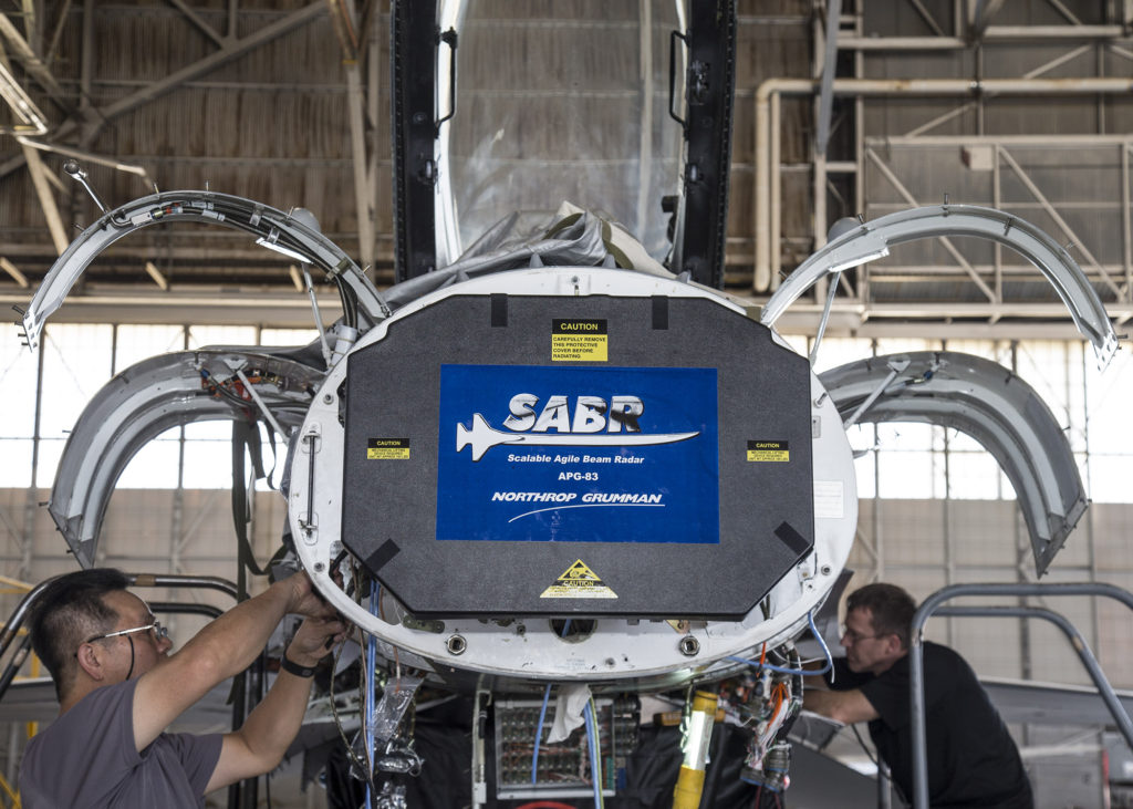 AESA (advanced electronically scanned array)
