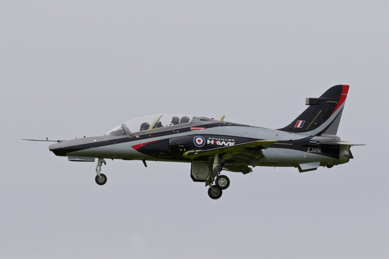 Successful first flight of the Advanced Hawk demonstrator takes place