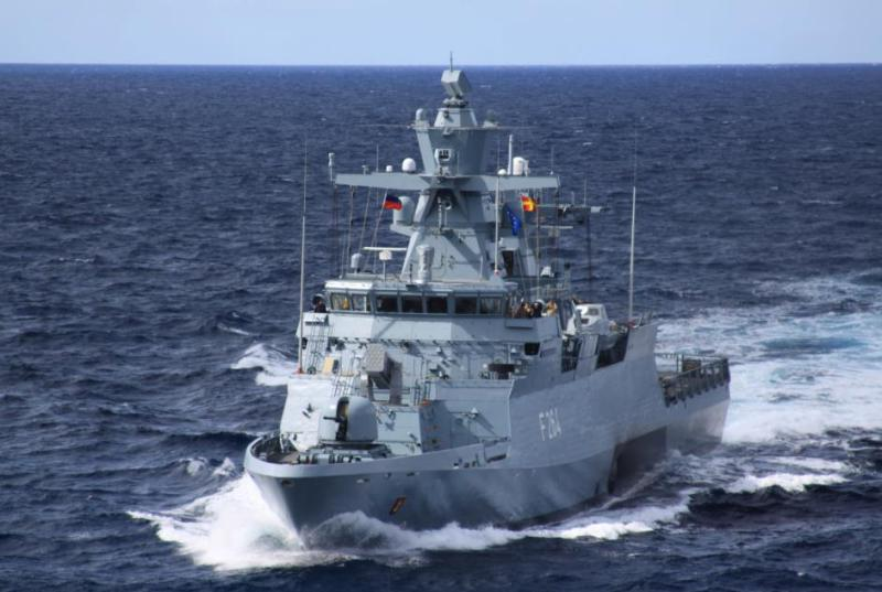 The German Parliament has approved a major funding package to modernize its military after decades of neglect; it includes the construction of five new K130-class corvettes for the navy, similar to the «Ludwigshafen» seen here at sea (GE MoD photo)