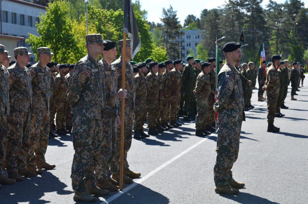 Saber Strike officially opens on Adazi Military Base, Latvia, June 3, 2017 (U.S. Army photo by Sergeant Shiloh Capers)
