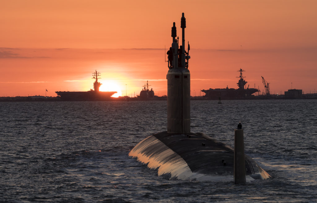 An undated photo of the future USS Washington (SSN-787). The U.S. Navy accepted delivery of the 14th submarine of the Virginia-class May 26 (U.S. Navy photo courtesy of Huntington Ingalls Industries by Matt Hildreth/Released)