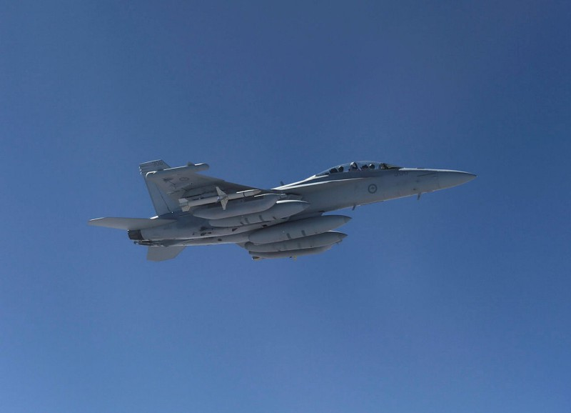 Australia has now received all 12 Boeing EA-18G Growler two-seat electronic attack aircraft (RAAF photo)