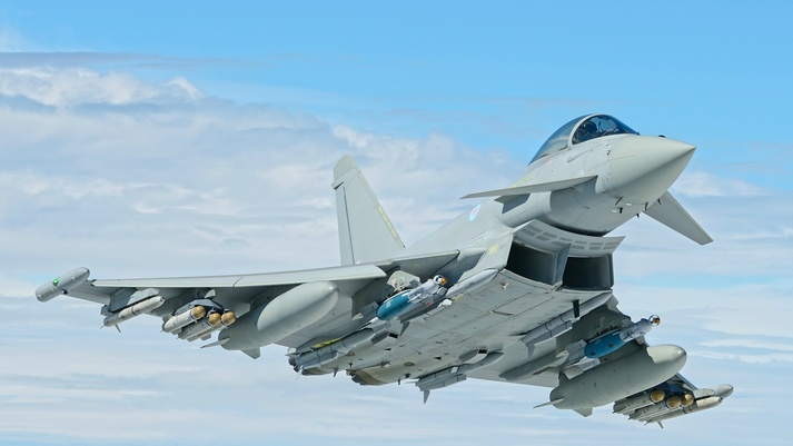 Eurofighter Typhoon aircraft enhancements move forward with successful live firing of Brimstone missile