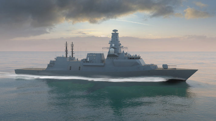Production begins in Glasgow for the first Royal Navy Type 26 Global Combat Ship