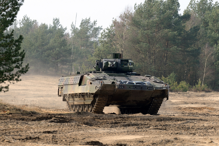 Rheinmetall to Upgrade German Army's Puma IFVs