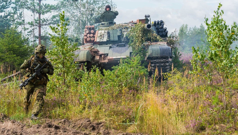 NATO battlegroups in Baltic nations and Poland fully operational